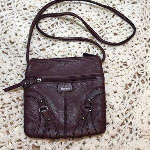 Purple leather purse!